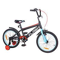 Детский городской двухколесный велосипед Flash 18 T-21847 Blue