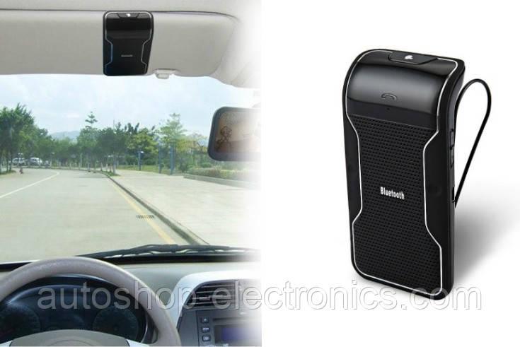 Автомобильный комплект Hands Free ( громкая связь ) с качественным динамиком и микрофоном / свободные руки