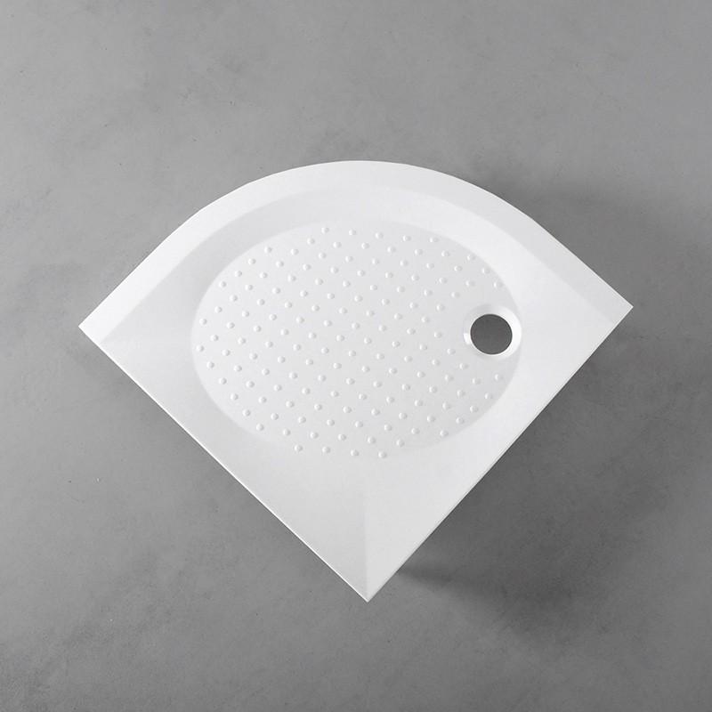 Душевой поддон Fancy Marble полукруглый, 900х900 R550