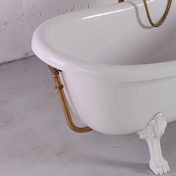 Слив/перелив для ванны Lady Hamilton, бронза