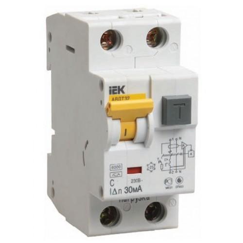 Автоматичний вимикач 2P. 40A.C. 4,5кА IEK