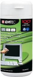 ЧИСТЯЧИЙ ЗАСІБ EMTEC TFT СЕРВЕТКИ ДЛЯ TFT/LCD ЕКРАНІВ 100ШТ