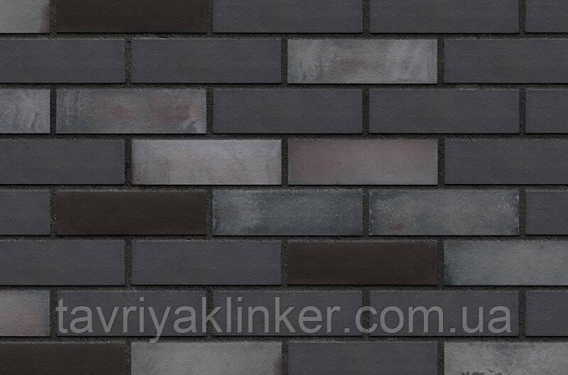 Плитка клинкерная облицовочная King Klinker (36) Черная река 240х71х10