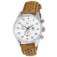 Механические мужские часы  TAG Heuer Carrera 1887 SpaceX Automatic Silver-White CL