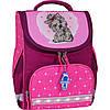 Рюкзак школьный каркасный с фонариками Bagland Успех 12л (5513 143 малина 167 К)