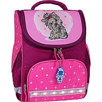 Рюкзак школьный каркасный с фонариками Bagland Успех 12л (5513 143 малина 167 К), фото 1