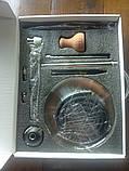 Кальян Matt Pear Черный Шарик цвет чёрный полный комплект, фото 3