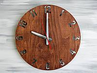 Декоративные настенные часы Цвет Mahogany (Красное дерево)