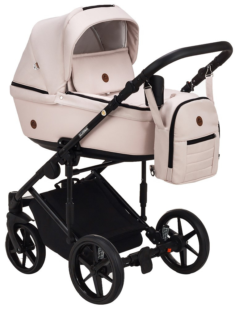 Детская универсальная коляска 2 в 1 Adamex Amelia Tip AM259