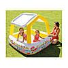 Детский бассейн 57470 Intex (157х157х122 см), цвет желтый/синий