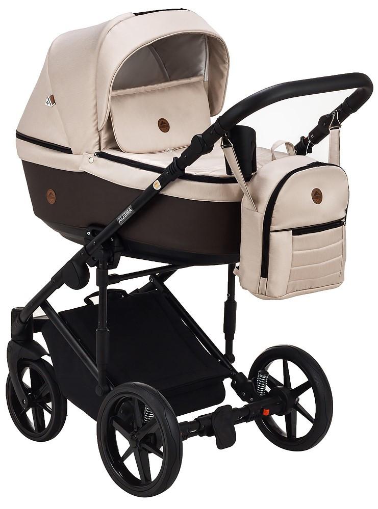 Детская универсальная коляска 2 в 1 Adamex Amelia Tip AM267
