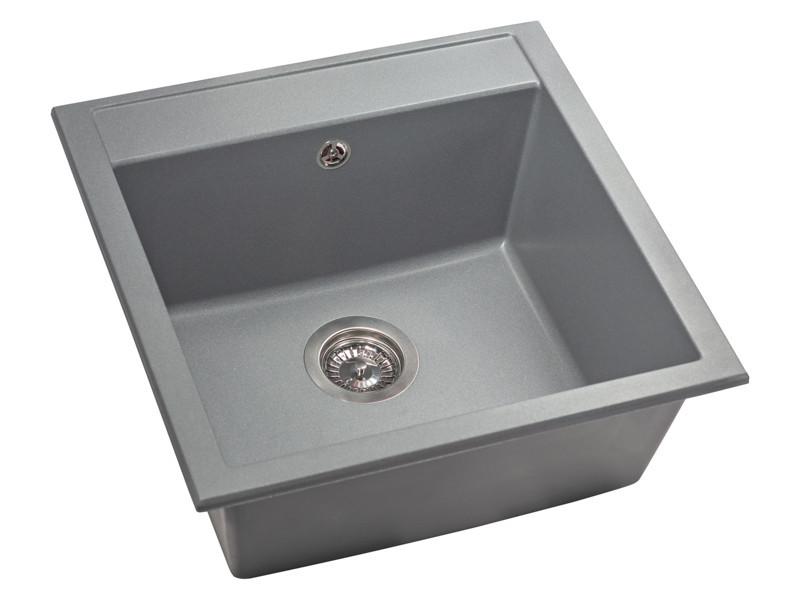 Кухонная мойка Fancy Marble Bodrum 510 ,gray