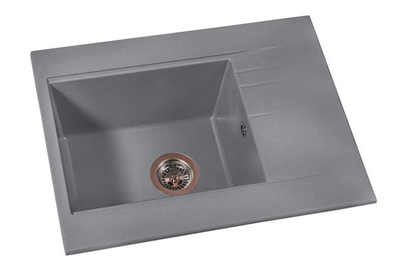 Кухонная мойка Fancy Marble Bodrum 650 grey