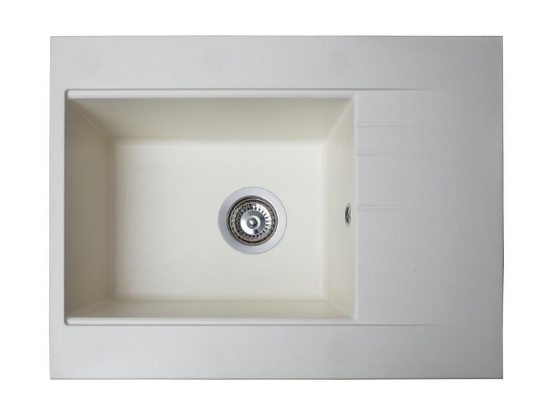 Кухонная мойка Fancy Marble Bodrum 650 white