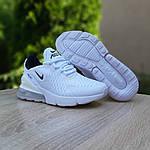 Женские кроссовки Nike Air Max 270 (белые) 20149, фото 7
