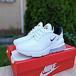 Женские кроссовки Nike Air Max 270 (белые) 20149, фото 3