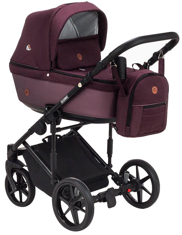 Детская универсальная коляска 2 в 1 Adamex Amelia Lux AM274