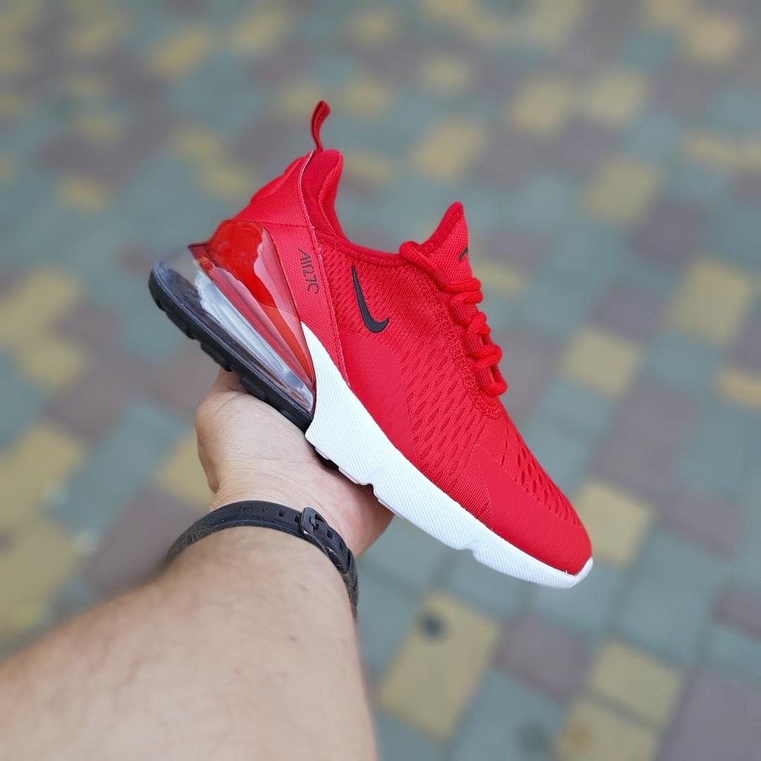 Женские кроссовки Nike Air Max 270 (красные) 20150