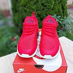 Женские кроссовки Nike Air Max 270 (красные) 20150, фото 7