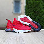 Женские кроссовки Nike Air Max 270 (красные) 20150, фото 5