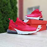 Женские кроссовки Nike Air Max 270 (красные) 20150, фото 9