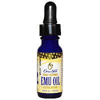 Emu Gold, Масло Эму, Emu oil (15 мл) США