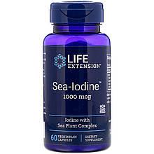 "Морской йод Life Extension ""Sea-Iodine"" 1000 мкг (60 капсул)"