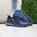 Чоловічі кросівки Nike Air Max 270 (чорні) 10207, фото 3