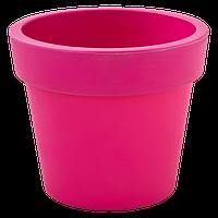 ВАЗОН ГАММА 0,9л (14*12см) Темно розовый