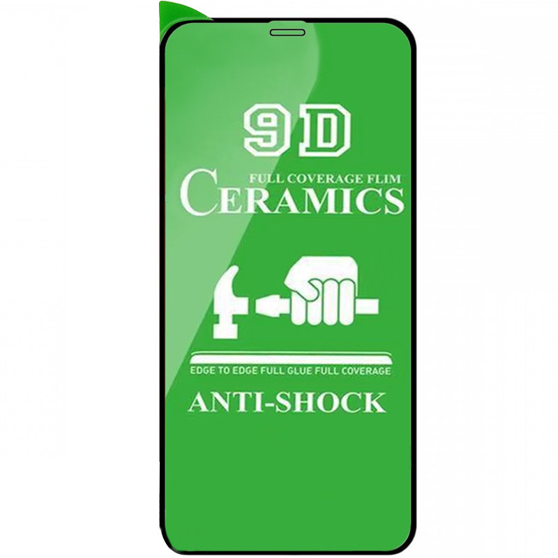 """Защитная пленка Ceramics 9D (без упак.) для Apple iPhone 11 Pro (5.8"""")"""