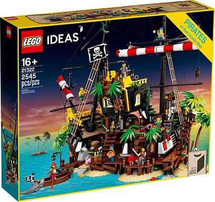 Lego Ideas Пірати Затоки Барракуди 21322