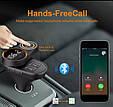 ФМ блютус модулятор слайдер + громкая связь / свободные руки + зарядное 2хUSB + microSD, фото 5