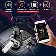 ФМ модулятор / блютус / громкая связь / microSD / AUX / USB / Тестер напряжения, фото 5