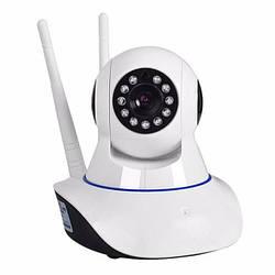 Бездротова поворотна IP камера відео спостереження WiFi microSD внутрішня 6030