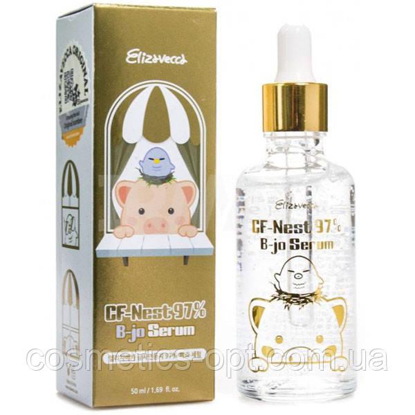 Сыворотка с экстрактом ласточкиного гнезда Elizavecca CF-Nest 97% B-Jo Serum, 50 ml