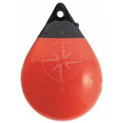 Кранец A0, для лодок до 20 футов, ярко-красный, Polyform.