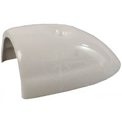 Брус привальный RADIAL, законцовка 30 мм, пластик, белый, Tessilmare.