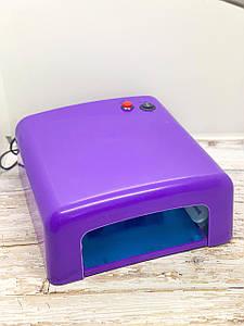 Ультрафиолетовая лампа для сушки гель-лака W-818 36 W фиолетовый