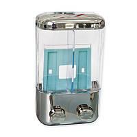 Дозатор для рідкого мила 2-й AQUAVITA KL-304 пластик під хром