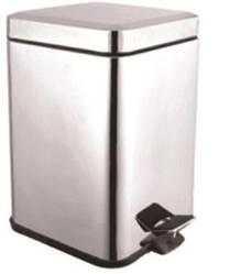 Відро для сміття AQUAVITA KL-301S метал, квадрат 5 л