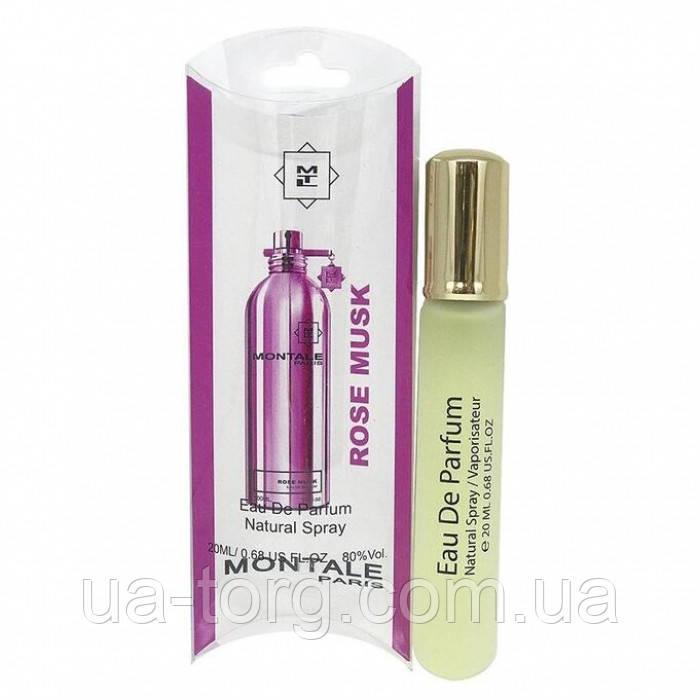 Жіночий міні парфум Montale Roses Musk, 20 мл