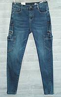 """Джинсы женские M.SARA на молнии с карманами, размеры 26-32 """"PLAY"""" купить недорого от прямого поставщика, фото 1"""