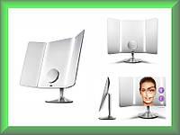 Дзеркало сенсорне на акумуляторі Wi-Fi Pro, дзеркало для ванної кімнати ST3014 Simplehuman (збільшення 1х10)