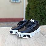 Женские кроссовки Puma Cali (черно-белые) 20155, фото 5