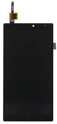Модуль LENOVO Vibe X3 A7010 black дисплей экран, сенсор тач скрин Леново, фото 2