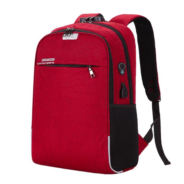 Рюкзак городской унисекс для ноутбука Taolegy Menxia Красный