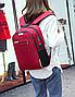 Рюкзак городской унисекс для ноутбука Taolegy Menxia Красный, фото 2