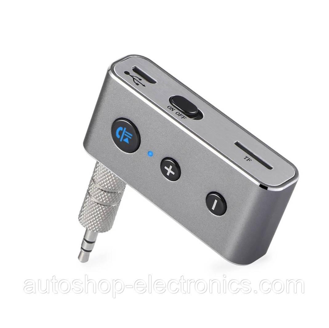 STEREO Bluetooth Music AUX + microSD + HandsFree (мощный аккумулятор и микрофон)