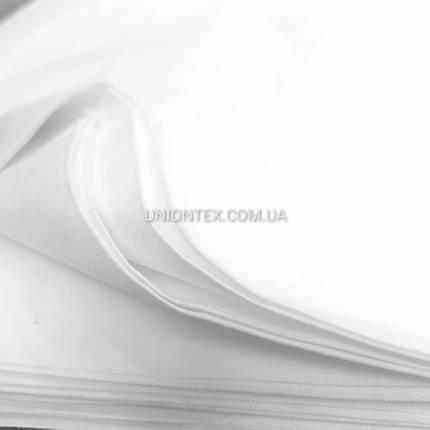Ткань бязь Голд Пакистан белая, ширина 220см, фото 2