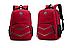 Рюкзак городской Taolegy Sport с выходом для гаджетов Черный Красный, фото 2
